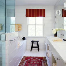 Farmhouse Bathroom by Paul Rice Architecture