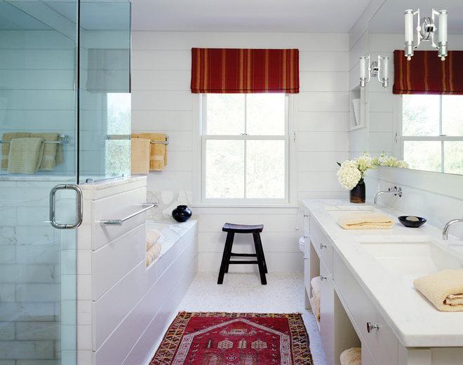 Farmhouse Bathroom by Paul Rice Architecture