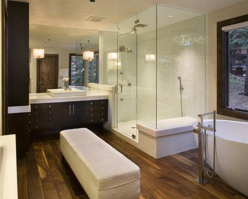 Glass Shower With Bench Ideas Pictures Remodel And Decor