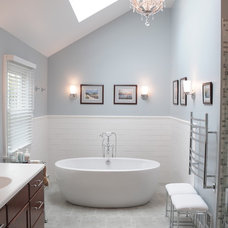 Modern Bathroom by Pine Street Carpenters & The Kitchen Studio