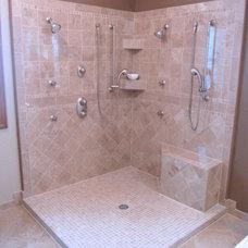 Traditional Bathroom by Prava Luxury Tile & Stone