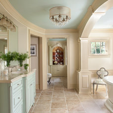Traditional Bathroom by Cole Wagner Cabinetry