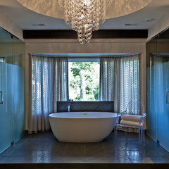 modern bathroom by PROjECT. interiors + Aimee Wertepny