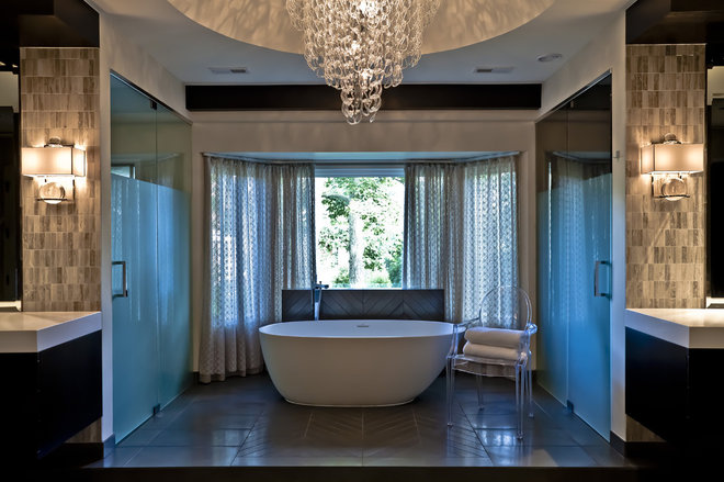 Modern Bathroom by PROjECT interiors + Aimee Wertepny