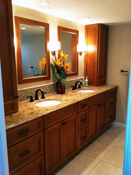Traditional Bathroom by R & K kitchens and baths DBA kuttler kitchens
