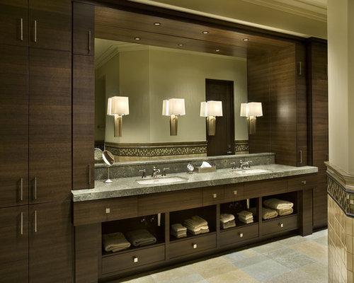 Bathroom Double Vanity Design Ideas & Remodel Pictures | Houzz