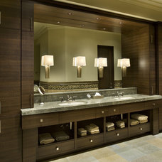 Contemporary Bathroom by R.J. Gurley Construction