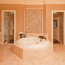 Traditional Bathroom by Steven Paul Whitsitt Photography