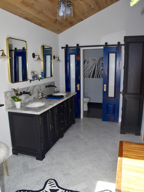 Eclectic Bathroom Design Ideas, Remodels & Photos