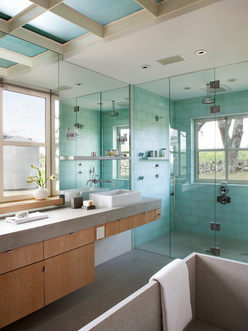 Aqua And Gray | Houzz