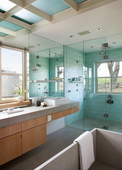Contemporary Bathroom by Remick Associates Architects + Master Builders