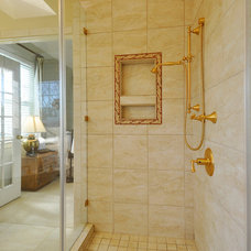 Traditional Bathroom by Nine Design Group