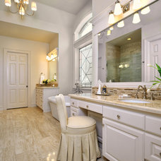 Traditional Bathroom by Carla Aston | Interior Designer