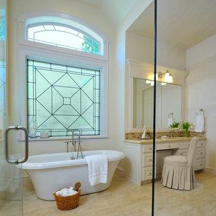 Bathroom - traditional bathroom idea in Houston