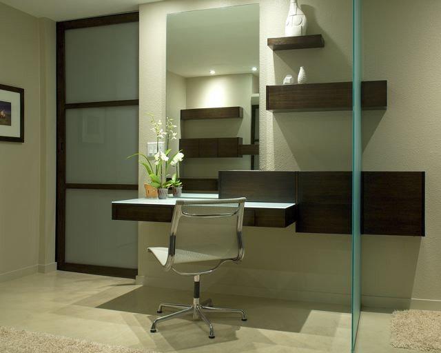 Modern Bathroom by Baker + Hesseldenz Design, Inc.