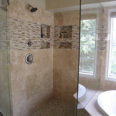 Traditional Bathroom by Pegasus Construction LLC