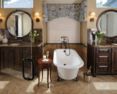 Traditional Bathroom Interior Design Ideas ~ Sherwin william nomadic desert houzz