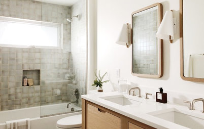 Bathroom Remodel Brings Back the Midcentury Modern Spirit