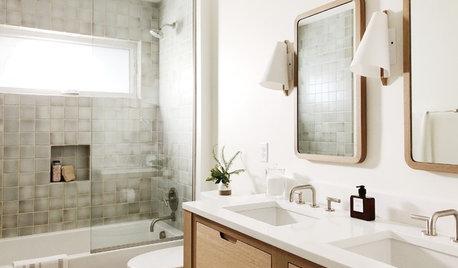 Bathroom Remodel Brings Back the Midcentury Modern Spirit