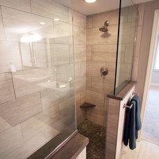 Transitional Bathroom by E4 Designs