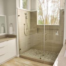 Modern Bathroom Master Bath Remodel
