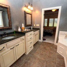 Traditional Bathroom by Built By Design