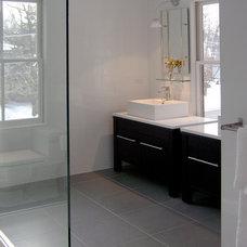 Contemporary Bathroom by Paint JAR Inc