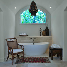 Eclectic Bathroom by Carla Aston | Interior Designer