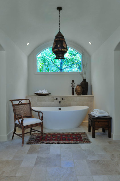 Mediterranean Bathroom by Carla Aston | Interior Designer
