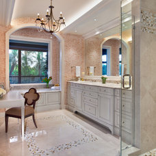 Traditional Bathroom by Little Palm Design Group