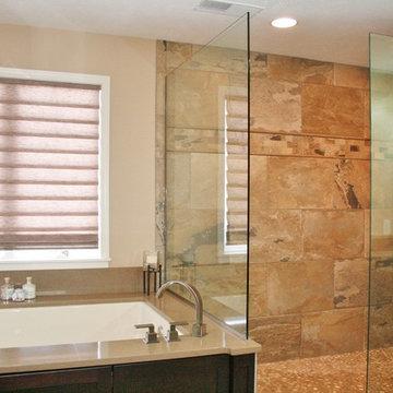 Master Bath Remodel, Peoria, Illinois