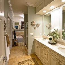 Traditional Bathroom by Sarah Bernardy Design