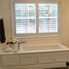 Contemporary Bathroom by Simply Southern Interiors LLC