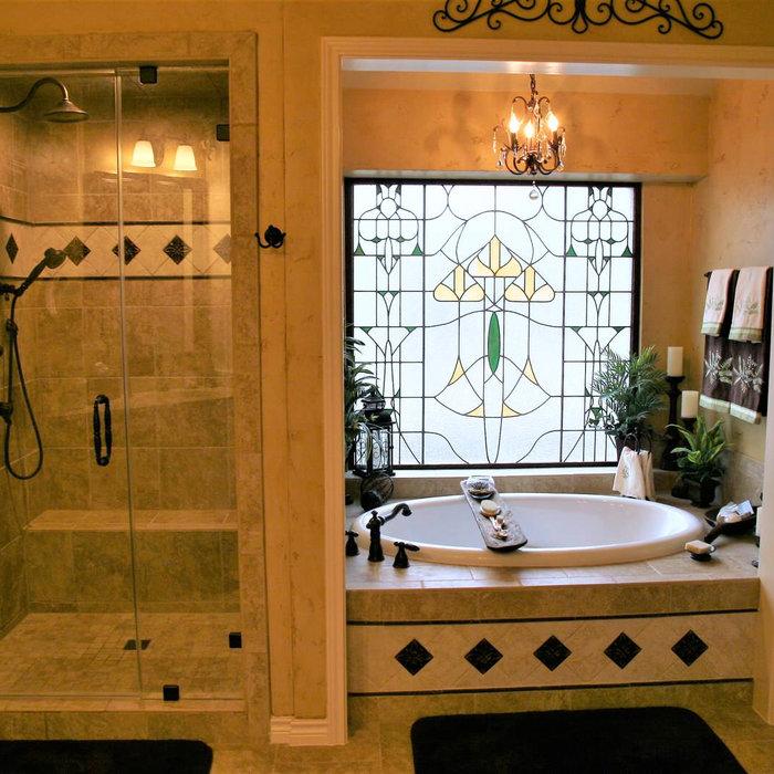 Master Bath Remodel w/ Old World Theme