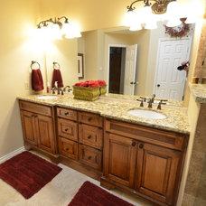 Traditional Bathroom by WaterMark design.build.remodel
