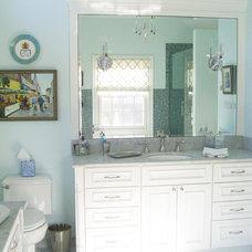 Traditional Bathroom by Sherman Construction LLC