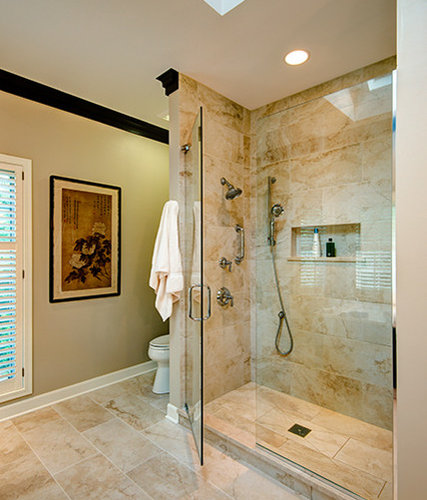 Masculine Master Baths: Gold Key Award Winning Masculine Master Bath Renovation
