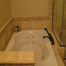 Mediterranean Bathroom by Construction Owl