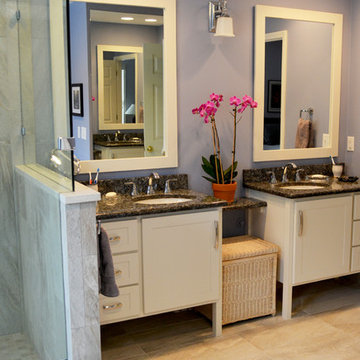 Master Bath Renovation Designed for Aging in Place