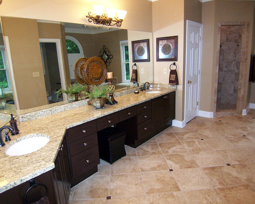 bathroom wall tile santa cecelia granite home design ideas pictures remodel 11948