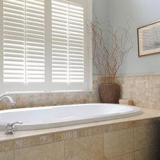 Contemporary Bathroom by Karen Parham - KMP Interiors