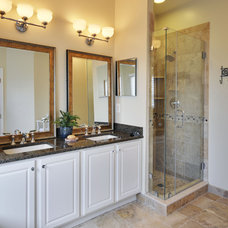 Eclectic Bathroom by Weaver Home Photography