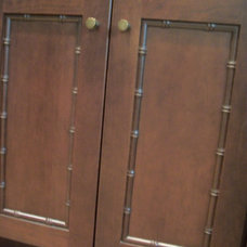 Asian Bathroom by Cabinet-S-Top