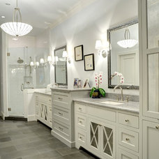 Traditional Bathroom by The Consulting House Inc.