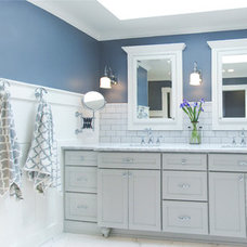 Traditional Bathroom by collaborative interiors