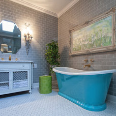 Traditional Bathroom by Eco CHOICE Interiors by Jennifer Spears