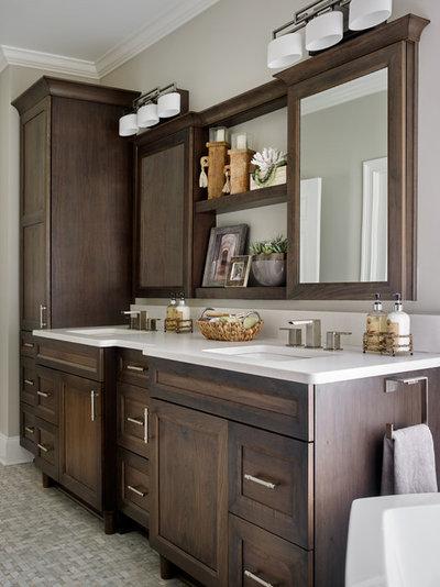 Inspirational Bathroom by Kandrac u Kole Interior Designs
