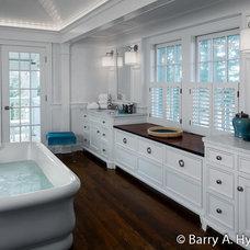 Traditional Bathroom by Sean O'Kane AIA Architect P.C.