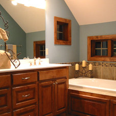 Contemporary Bathroom by Rongitsch Homes