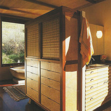 Asian Bathroom by Saint Dizier Design